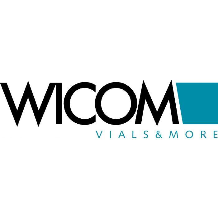 WICOM HPLC column Kromasil C18, 100A, 5µm, 125 x 4.0mm endc.