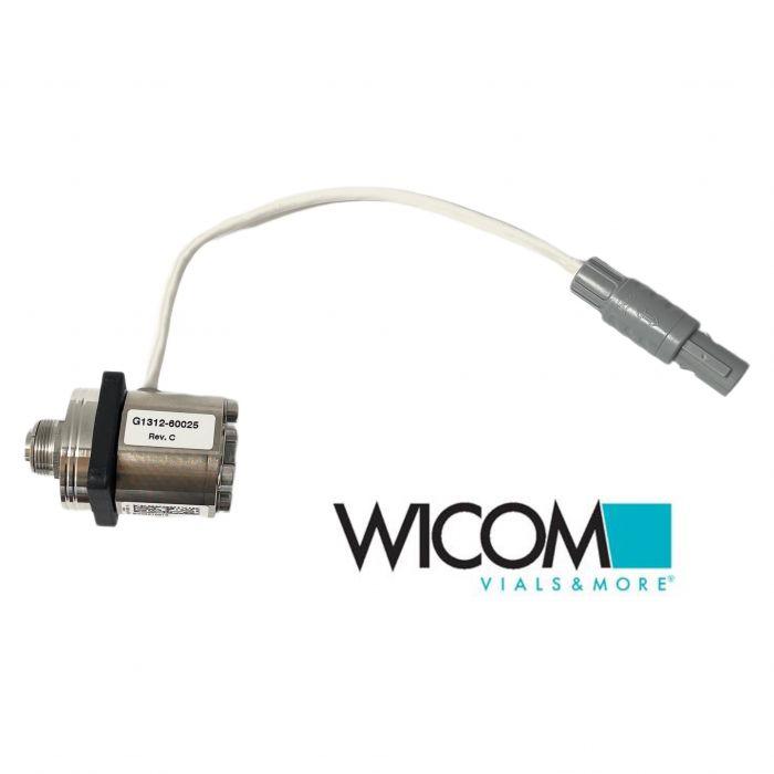 WICOM Aktives Einlassventil für Pumpe G1310A, G1311A, G1312A/B G1376, G2226A, ko...