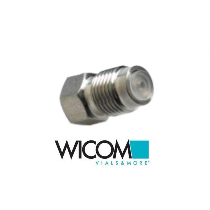 WICOM Inlet Check Valve for Hitachi LaChrom L-7100, L-7110, L-2130 OEM Part Nume...