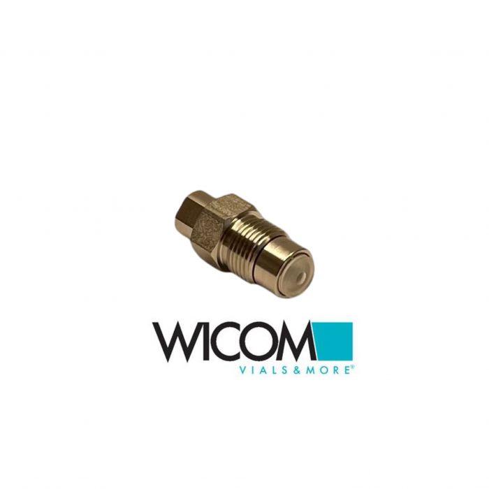 WICOM Inlet Cartridge Check Valve Shimadzu LC-600, LC-9A, LC-10AD, ESA model 580...