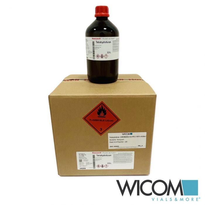 Tetrahydrofuran, CHROMASOLV for HPLC, 99,9% inhibitor free manufacturer: Honeywe...