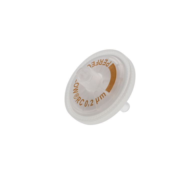 WICOM PERFECT-FLOW(r) syringe filters, regenerated, Cellulose, 25mm, 0.2µm