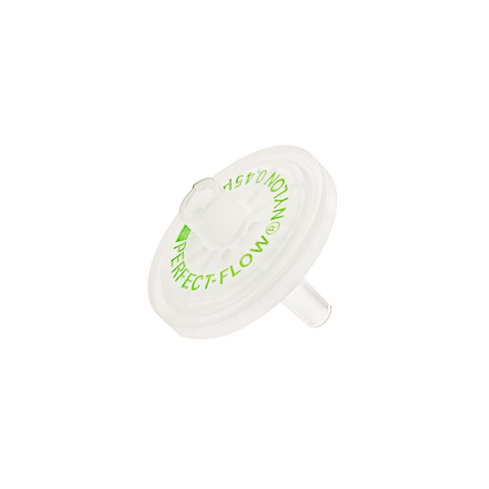PERFECT-FLOW(r) syringe filter, Nylonmembran 25mm 0,45 µm