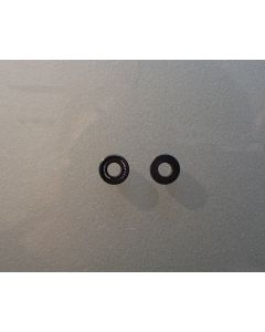WICOM Schwarze Sekundärdichtung für Waters(r) Modell 6000(A) 510/590 und 600, an...