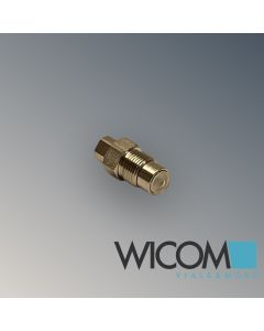 WICOM Inlet Cartridge Check Valve Shimadzu LC-600, LC-9A, LC-10AD, ESA Modell 58...