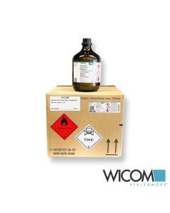 Methanol for HPLC Gradient Grade / Hersteller Merck Paket mit 4 Flaschen á 2,5l...