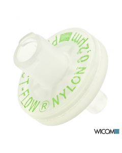 WICOM Spritzenvorsatzfilter, Nylon 0,2um, 13mm, mit Luer-Tip-Ausgang, 200 Stueck...