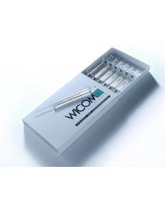 10ul syringe, feste Nadel, 23s, 42mm, Konische tip, fits for Agilent GC